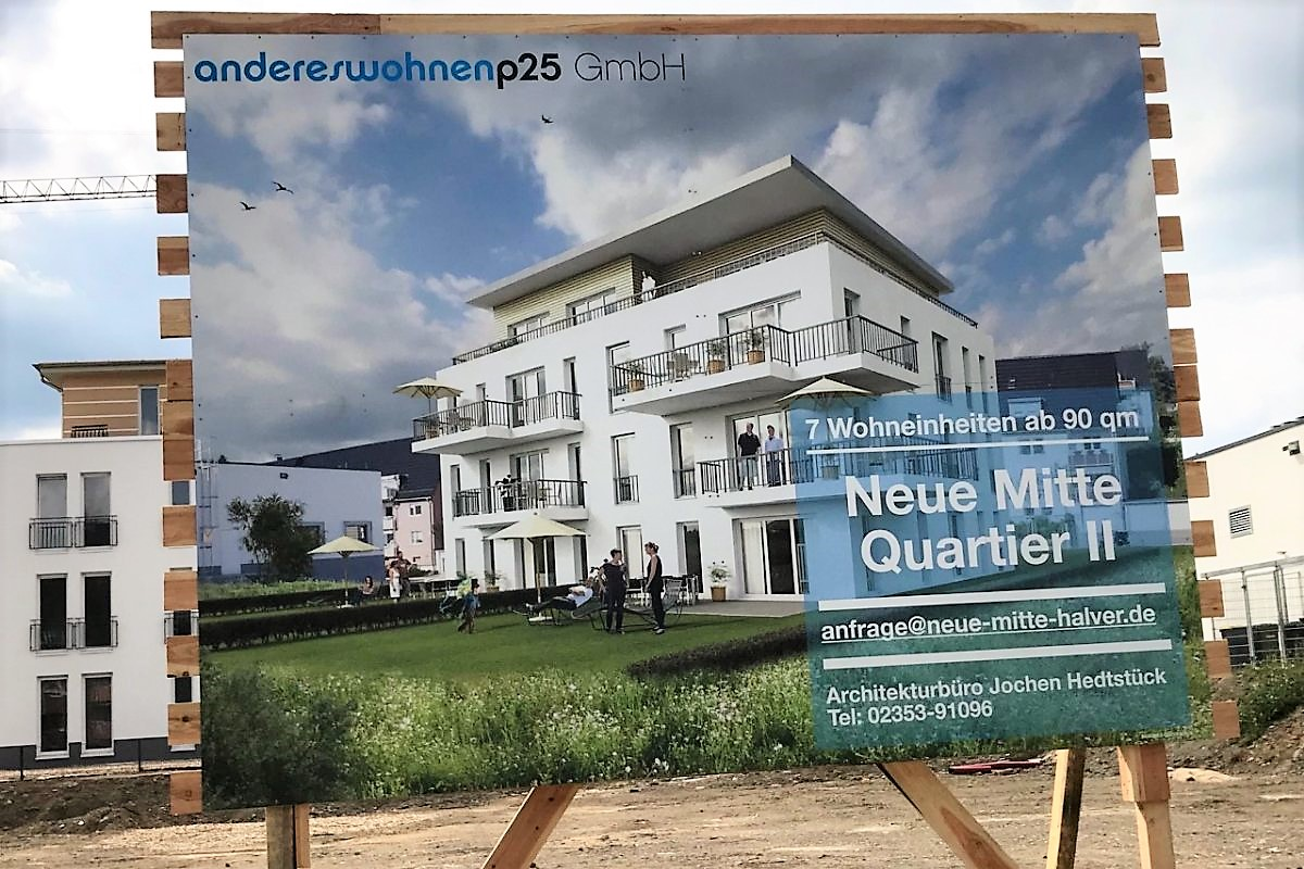 andereswohnenp25 | Projekt Neue Mitte Halver Quartier II | 7 neue Eigentumswohnungen