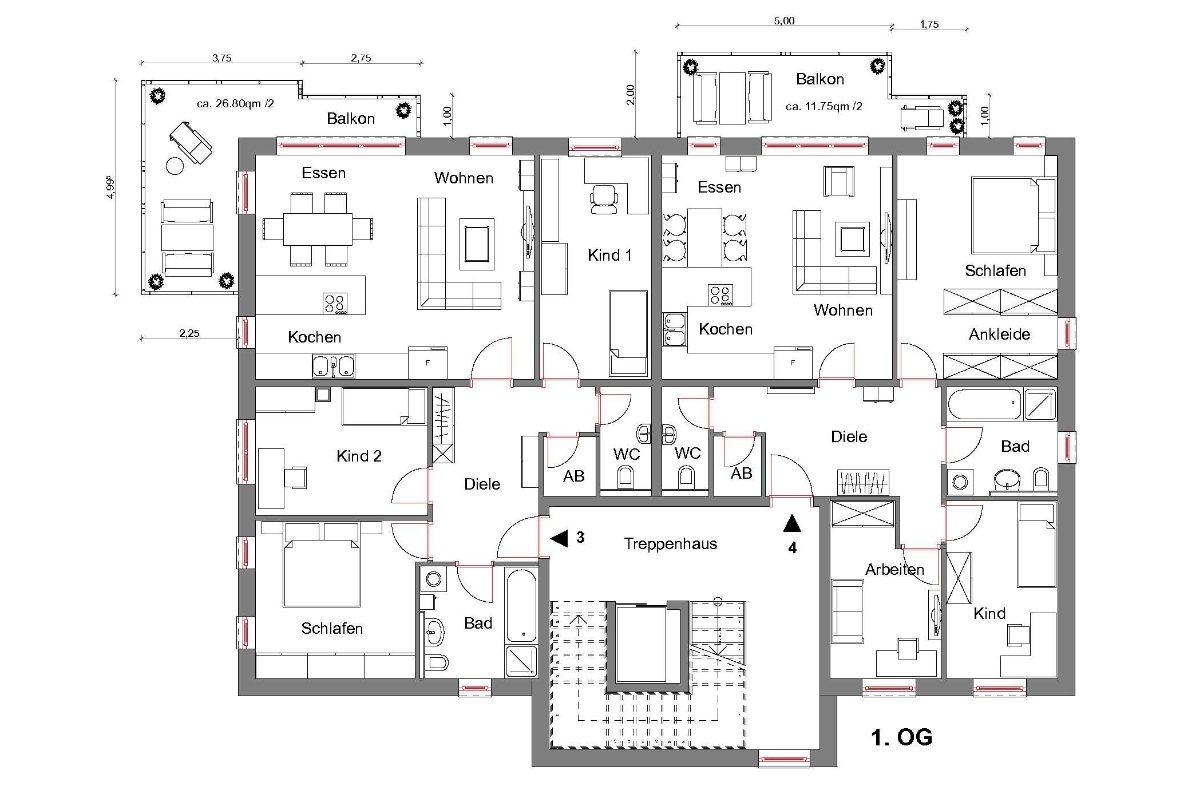 andereswohnenp25 | Projekt Neue Mitte Halver Quartier 2 - 7 neue Eigentumswohnungen